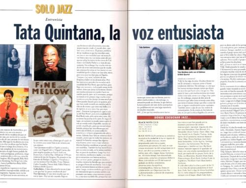 Tata Quintana, la voz entusiasta. 1997
