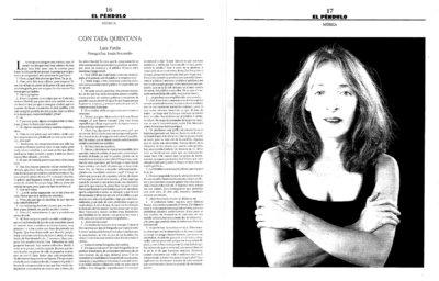 Tata Quintana. Voz, canto, creación. Clases de canto en Madrid. Taller semanal de canto en Madrid. Talleres intensivos de canto en otras ciudades